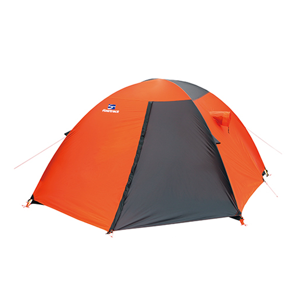 finetrack(ファイントラック) カミナドーム4/OG/GY FAG0314オレンジ 四人用(4人用) テント タープ 登山用テント 登山4 アウトドアギア