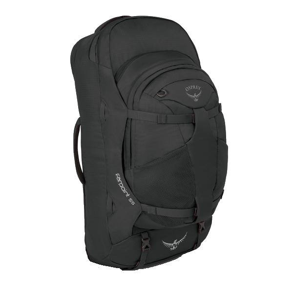 OSPREY(オスプレー) ファーポイント55/ヴォルカニックグレー OS55140グレー リュック バックパック バッグ トレッキングパック トレッキング50 アウトドアギア