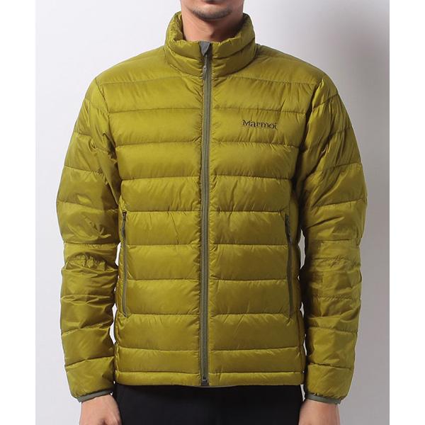 Marmot(マーモット) DOUCE DOWN JACKET/GLD/M MJD-F7005男性用 ゴールド アウター メンズウェア ウェア ジャケット 中綿入り ジャケット 中綿入り男性用 アウトドアウェア