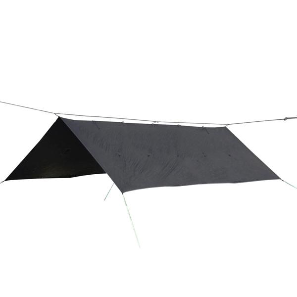 Bush Craft(ブッシュクラフト) ORIGAMI TARP 4.5×3 ブラックステッチ 23210ブラック タープ タープ テント スクエア型タープ スクエア型タープ アウトドアギア