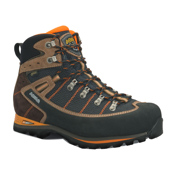 ASOLO(アゾロ) AS.シラーズ GV MS/BK/NI/K6.0 1829553アウトドアギア トレッキング用 トレッキングシューズ トレッキング 靴 ブーツ ブラウン 男性用