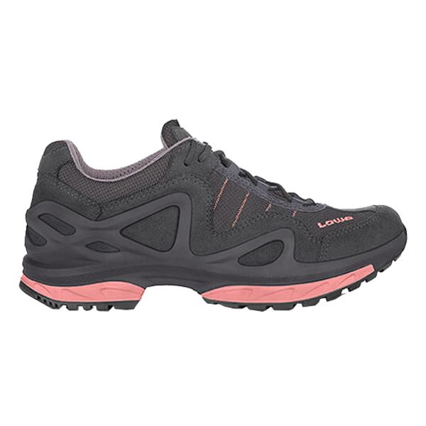 LOWA(ローバー) ゴルゴンGT LOウィメンズ/アンスラサイト×ローズ/3H L320578-9707-3Hアウトドアギア ハイキング用女性用 トレッキングシューズ トレッキング 靴 ブーツ おうちキャンプ