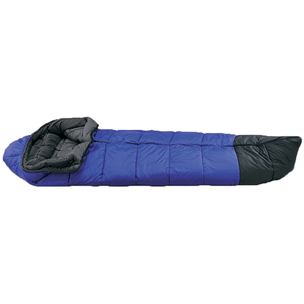 ISUKA(イスカ) スーパースノートレック 1500/ロイヤルブルー 123212ブルー ウインタータイプ(冬用) シュラフ 寝袋 アウトドア用寝具 マミー型 マミーウインター アウトドアギア