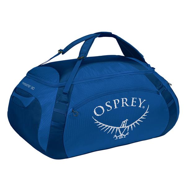 OSPREY(オスプレー) トランスポーター 130/トゥルーブルー OS55165ブルー ダッフルバッグ ボストンバッグ トラベル・ビジネスバッグ ダッフル アウトドアギア