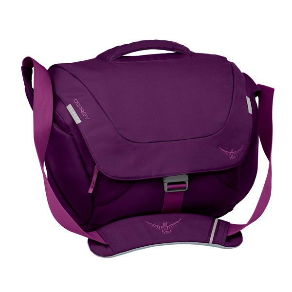 OSPREY(オスプレー) フラップジルクーリエ/ダークマジェンダ OS53040女性用 パープル ショルダーバッグ バッグ アウトドア アウトドアギア