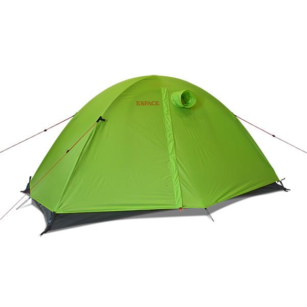 ESPACE(エスパース) ソロアルティメイト(レインフライ付) soloグリーン テント タープ ツーリング用テント ツーリング用テント アウトドアギア