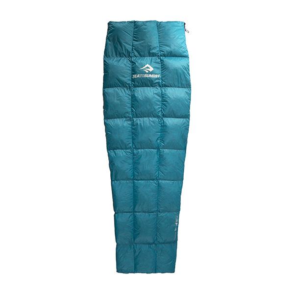 SEA TO SUMMIT(シートゥーサミット) トラベラー TrI/ティール/レギュラー ST81261001アウトドアギア マミーサマー マミー型 アウトドア用寝具 寝袋 シュラフ サマータイプ(夏用)