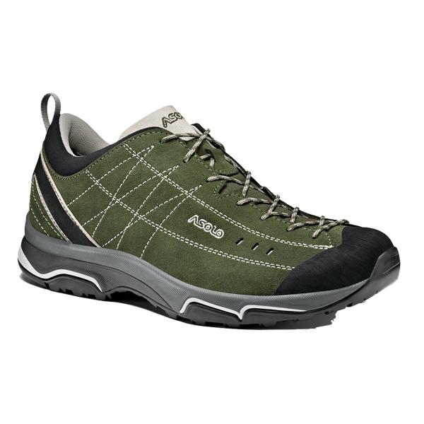 ASOLO(アゾロ) ニュークリオン MS/GN/SV/K7.5 1829679アウトドアギア ハイキング用 トレッキングシューズ トレッキング 靴 ブーツ グリーン 男性用