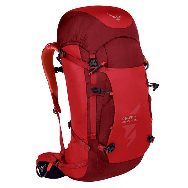 OSPREY(オスプレー) バリアント 37/ディアブロレッド/M OS50377男性用 レッド リュック バックパック バッグ トレッキングパック トレッキング30 アウトドアギア