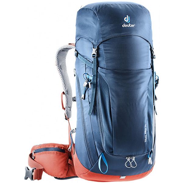 deuter(ドイター) トレイル プロ 36 ミッドナイト×ラバ D3441319-3522アウトドアギア トレッキング30 トレッキングパック バッグ バックパック リュック ブルー おうちキャンプ