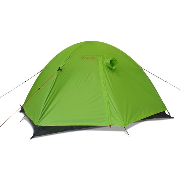 ESPACE(エスパース) デュオアルティメイト(レインフライ付) Duoグリーン 二人用(2人用) テント タープ 登山用テント 登山2 アウトドアギア