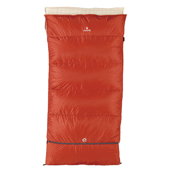 snow peak(スノーピーク) セパレートシュラフ オフトンワイド LX BD-104シュラフ 寝袋 アウトドア用寝具 封筒型 封筒スリーシーズン アウトドアギア