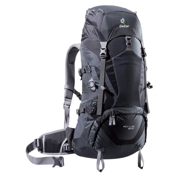 deuter(ドイター) ACTライト 32+5グレー×ブラック D4300517男女兼用 グレー リュック バックパック バッグ トレッキングパック トレッキング30 アウトドアギア