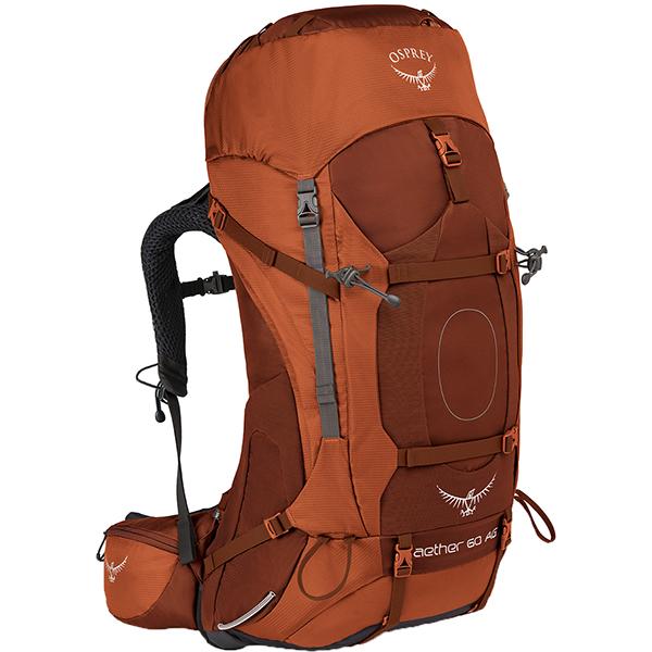 OSPREY(オスプレー) イーサーAG 60/アウトバックオレンジ/L OS50062オレンジ リュック バックパック バッグ トレッキングパック トレッキング60 アウトドアギア