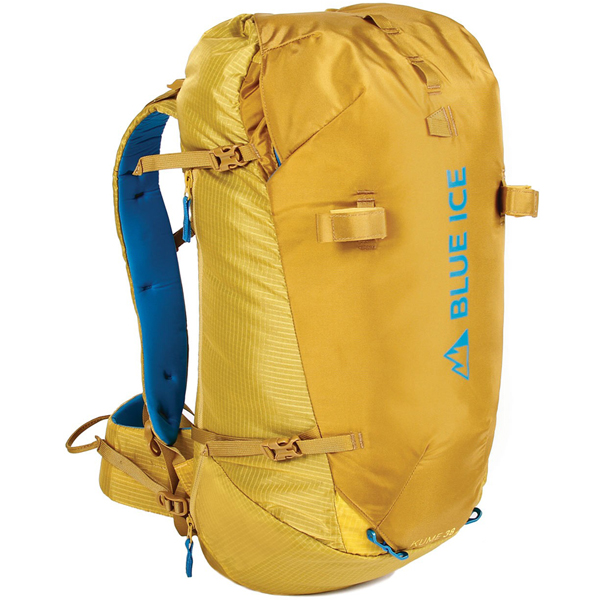 blue ice(ブルーアイス) クメ38L/スーパーレモン 100160アウトドアギア トレッキング30 トレッキングパック バッグ バックパック リュック イエロー