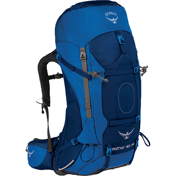 OSPREY(オスプレー) イーサーAG 60/ネプチューンブルー/S OS50062ブルー リュック バックパック バッグ トレッキングパック トレッキング60 アウトドアギア