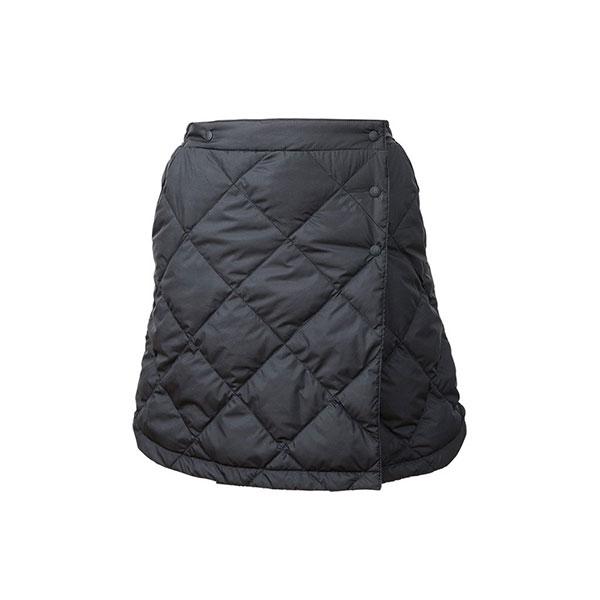 NANGA(ナンガ) ダウンスカート/BLK/F DSK-100ロングパンツ レディースウェア ウェア ダウンパンツ ダウンパンツ女性用 アウトドアウェア
