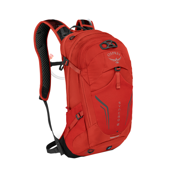 OSPREY(オスプレー) シンクロ 12/ファイアベリーレッド OS56101001001アウトドアギア デイパック バッグ バックパック リュック レッド 男性用 おうちキャンプ
