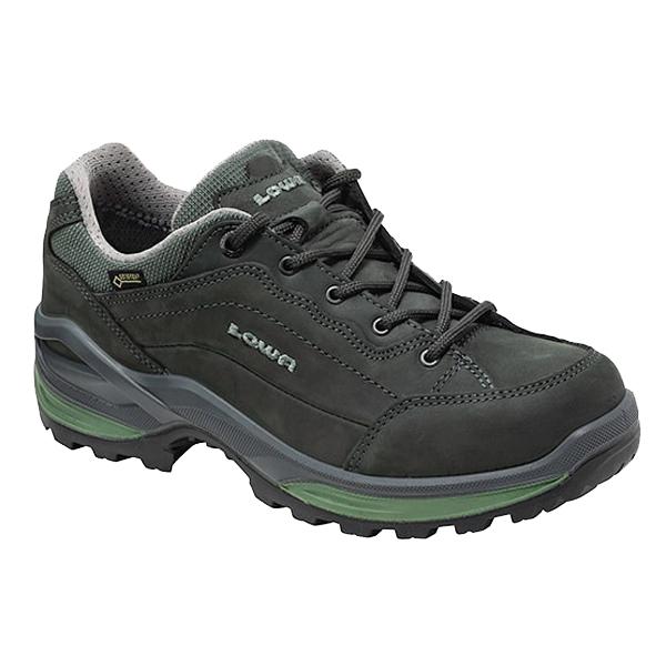 LOWA(ローバー) レネゲードGT LO WIDEウィメンズ/グラファイト×ジェイド/4H L320967-9781アウトドアギア ウォーキングシューズ女性用 アウトドアスポーツシューズ レディース靴 ウォーキングシューズ おうちキャンプ