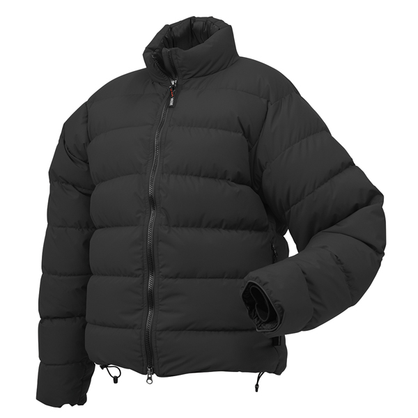 WESTERN MOUNTAINEERING(ウェスタンマウンテニアリング) ベイパージャケット/ブラック/M WM60511アウター メンズウェア ウェア ダウンジャケット ダウンジャケット男性用 アウトドアウェア