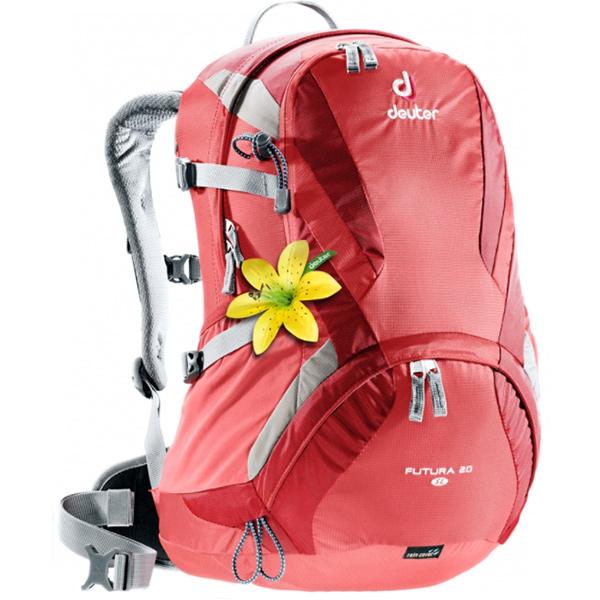 deuter(ドイター) フューチュラ20SL/コーラル/クランベリー D34194-5552女性用 レッド リュック バックパック バッグ トレッキングパック トレッキング20 アウトドアギア