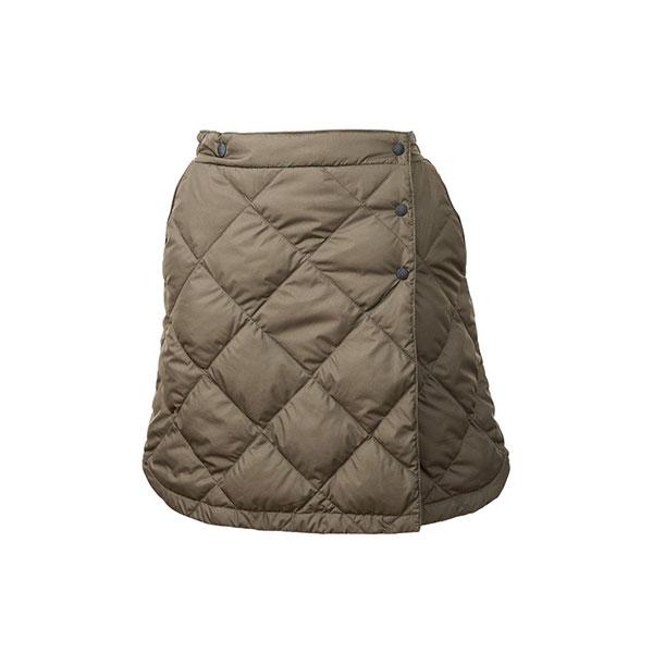 NANGA(ナンガ) ダウンスカート/KHA/F DSK-101ロングパンツ レディースウェア ウェア ダウンパンツ ダウンパンツ女性用 アウトドアウェア