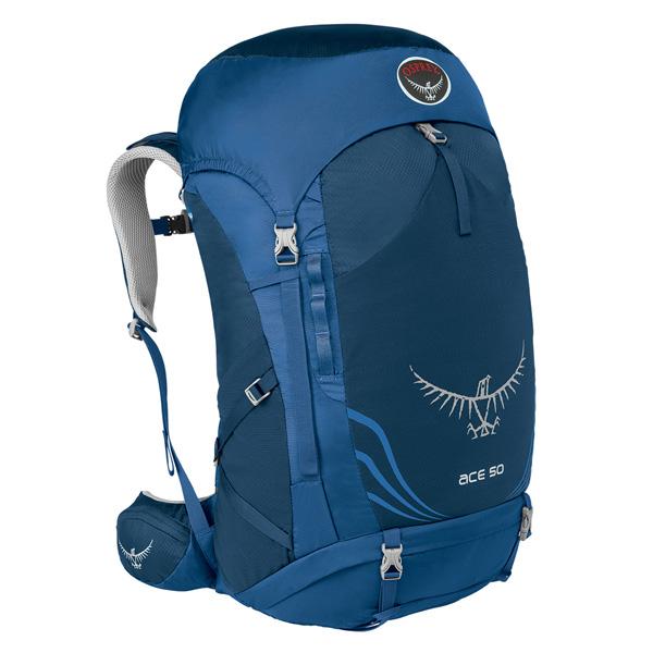 OSPREY(オスプレー) エース 50/ナイトスカイブルー OS50130子供用 ブルー リュック バックパック バッグ トレッキングパック トレッキング50 アウトドアギア