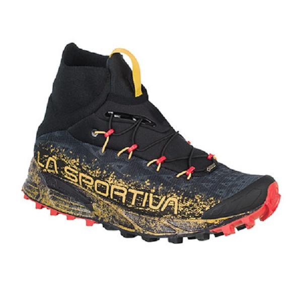 LA SPORTIVA(ラ・スポルティバ) URAGANO GTX/42/ブラックxイエロー 36H999100アウトドアギア トレイルランシューズ アウトドアスポーツシューズ トレッキング 靴 ブーツ