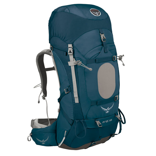 OSPREY(オスプレー) エーリエル 55/ディープシーブルー/S OS50100アウトドアギア トレッキング50 トレッキングパック バッグ バックパック リュック ブルー 女性用