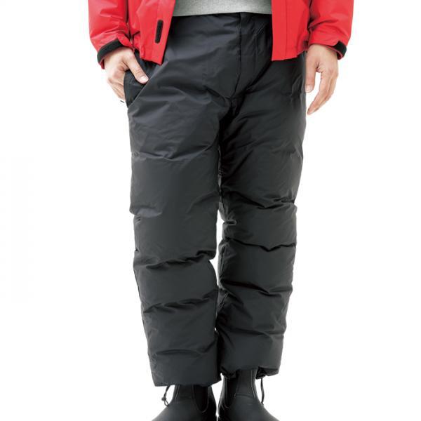 NANGA(ナンガ) オーロラダウンパンツ/L/BLK AUR-PT3男性用 ブラック ロングパンツ メンズウェア ウェア ダウンパンツ ダウンパンツ男性用 アウトドアウェア
