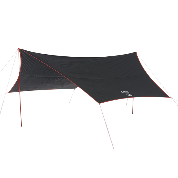 OUTDOOR LOGOS(ロゴス) Black UV ヘキサタープ5750-AG 71808022ブラック タープ タープ テント ヘキサ・ウイング型タープ ヘキサ・ウイング型タープ アウトドアギア