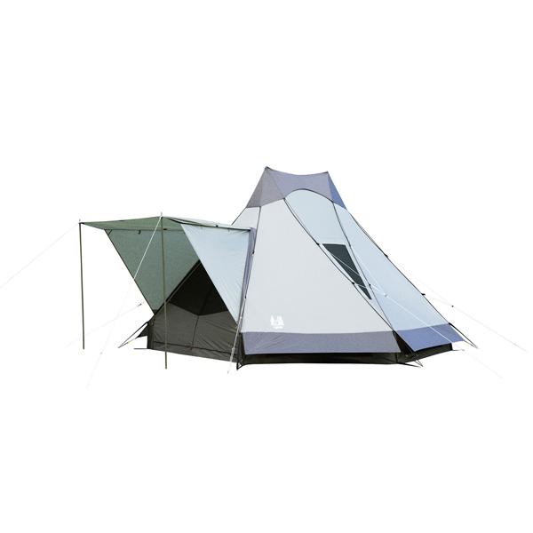 ogawa campal(小川キャンパル) アテリーザ 2783グレー 六人用(6人用) テント タープ キャンプ用テント キャンプ6 アウトドアギア