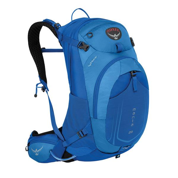 OSPREY(オスプレー) マンタAG 28/ソニックブルー/S/M OS56031アウトドアギア トレッキング20 トレッキングパック バッグ バックパック リュック ブルー 男性用
