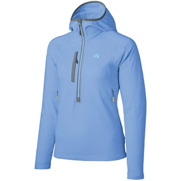 finetrack(ファイントラック) ドラウトレイフーディ Ws PB FMW1202女性用 ブルー ジャケット コート アウター ジャケット女性用 アウトドアウェア