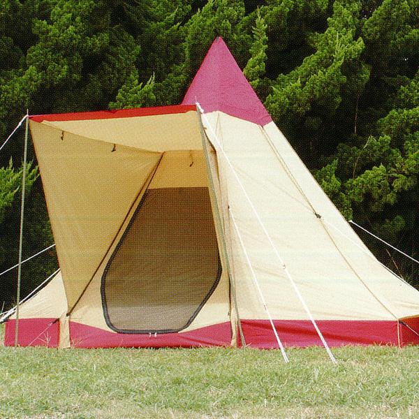 ogawa campal(小川キャンパル) ピルツ9-DX/4人用/レッド×サンド(10) 2793レッド 四人用(4人用) テント タープ キャンプ用テント キャンプ4 アウトドアギア