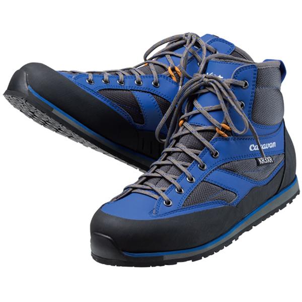 Caravan(キャラバン) KR_3XR/ブルー/25.0 003501アウトドアギア 渓流・沢登り用 トレッキングシューズ トレッキング 靴 ブーツ ブルー おうちキャンプ