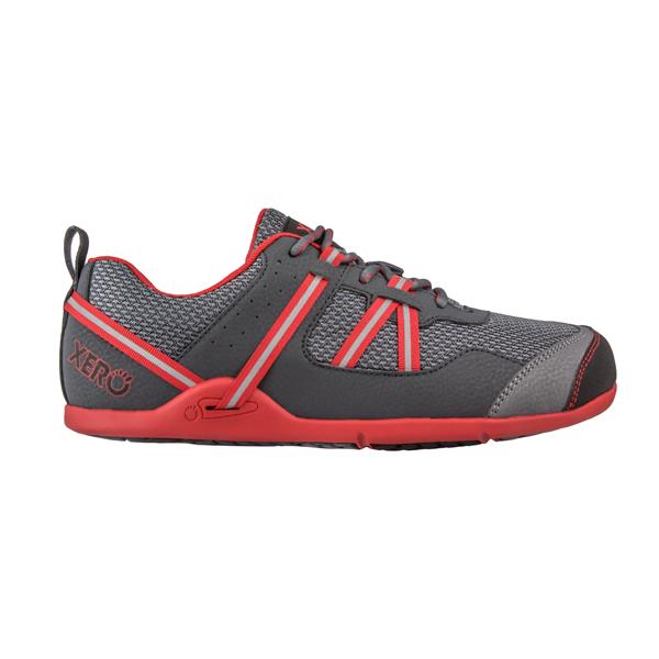 XEROSHOES(ゼロシューズ) プリオメンズ/チャコールレッド/M8 PRM-CRDアウトドアギア スニーカー・ランニング アウトドアスポーツシューズ トレッキング 靴 ブーツ レッド