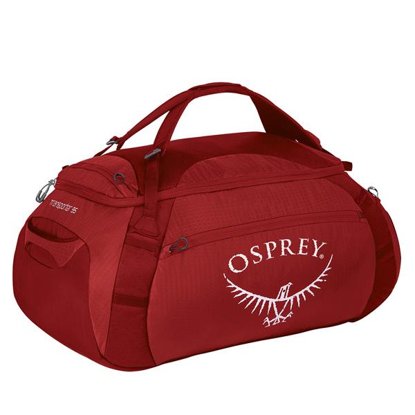OSPREY(オスプレー) トランスポーター 95/フードゥーレッド OS55167ショルダーバッグ バッグ アウトドア トラベル・ビジネスバッグ トラベルパック アウトドアギア