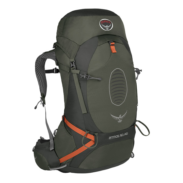 OSPREY(オスプレー) アトモスAG 50/グラファイトグレー/M OS50191男女兼用 グレー リュック バックパック バッグ トレッキングパック トレッキング50 アウトドアギア