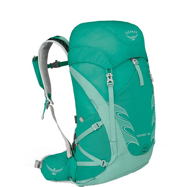 OSPREY(オスプレー) テンペスト 30/ルーセントグリーン/XS/S OS50262女性用 グリーン リュック バックパック バッグ トレッキングパック トレッキング30 アウトドアギア