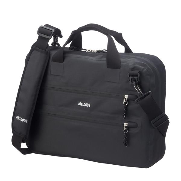 OUTDOOR LOGOS(ロゴス) BLACK SPLASH PCバッグ・プラス 88200143ブラック メッセンジャーバッグ ショルダーバッグ 男女兼用バッグ トラベル・ビジネスバッグ アウトドアギア