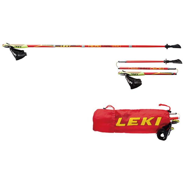 LEKI(レキ) マイクロマジック/220/115 1300310レッド トレッキングポール トレッキング 登山 ノルディックウォーキングポール ノルディックウォーキングポール アウトドアギア