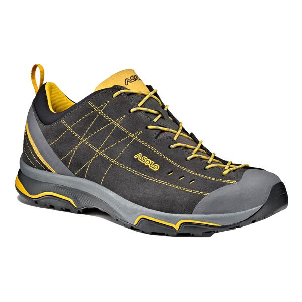 ASOLO(アゾロ) 靴 ハイキング用 AS.ニュークリオン MS/GP/YL/K8.0 1829679男性用 トレッキング グレー ブーツ 靴 トレッキング トレッキングシューズ ハイキング用 アウトドアギア, イサハヤシ:716a9dbd --- sunward.msk.ru