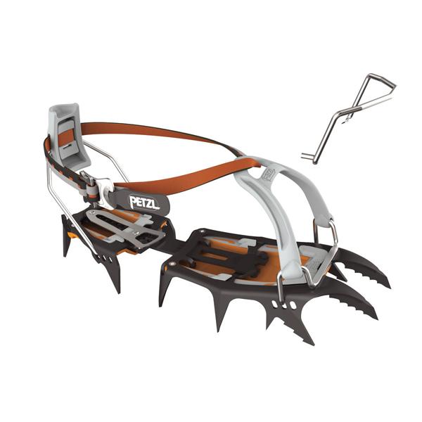PETZL(ペツル) サルケン/LEVERLOCK UNIVERSEL T10ALLUアウトドアギア 一般縦走用アイゼン アイゼン アウトドア 登山 トレッキング
