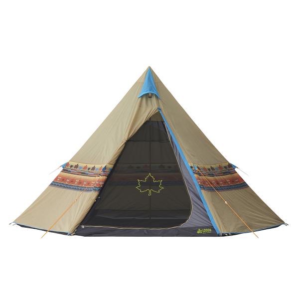 OUTDOOR LOGOS(ロゴス) LOGOS ナバホTepee 400 71806500アウトドアギア キャンプ大型 キャンプ用テント タープ