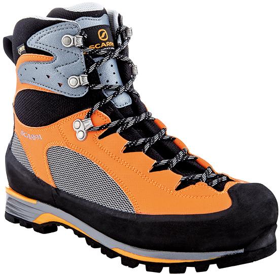 SCARPA(スカルパ) シャルモ プロ GTX/グレー/オレンジ/#42 SC23071ブーツ 靴 トレッキング トレッキングシューズ トレッキング用 アウトドアギア
