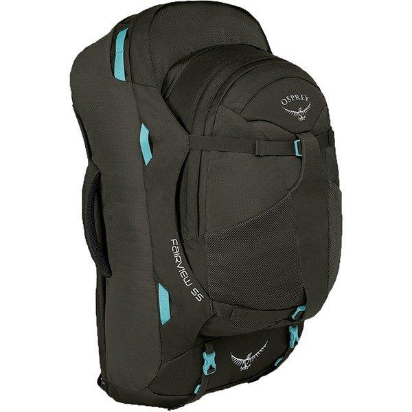 OSPREY(オスプレー) フェアビュー55/ミスティーグレー/ワンサイズ OS55151001001アウトドアギア トレッキング50 トレッキングパック バッグ バックパック リュック グレー 女性用 おうちキャンプ