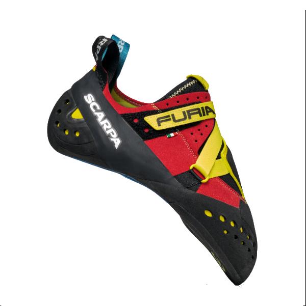 納期:2019年05月上旬SCARPA(スカルパ) フューリア S/パロット/イエロー/#43.5 SC20210レッド ブーツ 靴 トレッキング トレッキングシューズ クライミング用 アウトドアギア