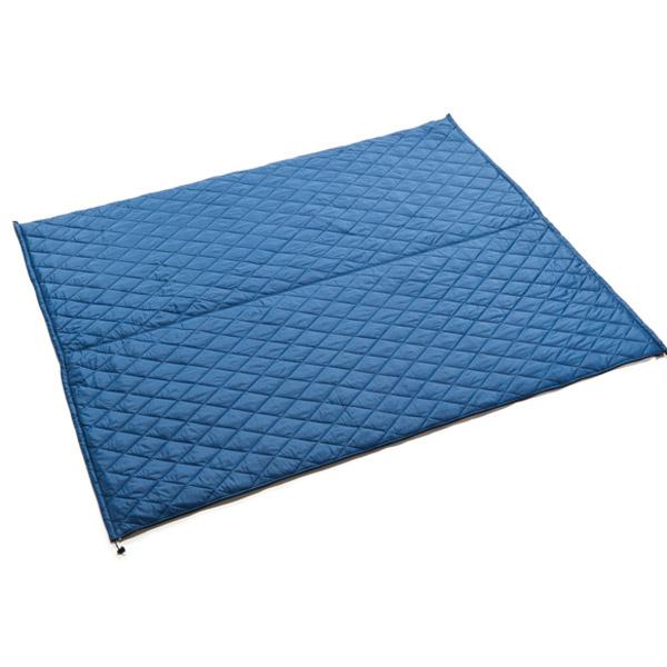 PuroMonte(プロモンテ) リバーシブルキルティングマルチシート/グレー/ブルー GFC53アウトドアギア マット テーブル レジャーシート ブルー