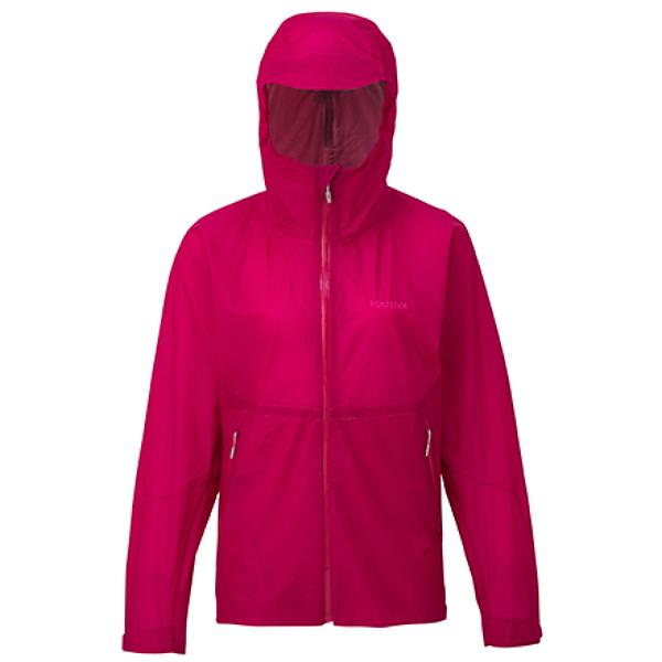 Marmot(マーモット) WS ZERO FLOW JACKET/SGA/L TOWLJK02女性用 ピンク レインジャケット レインウェア ウェア レインウェア(ジャケット) レインウェア女性用 アウトドアウェア